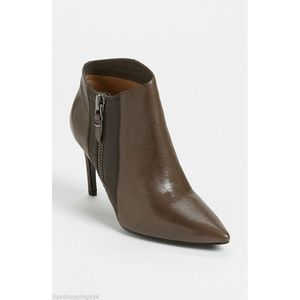 NEW Via Spiga Ibis Leather Ankle Boot